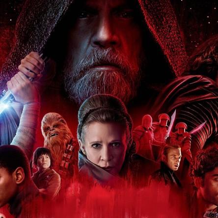 Last Jedi movie poster.