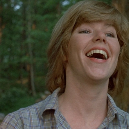 Adrienne King as Alice Hardy in Friday the 13th