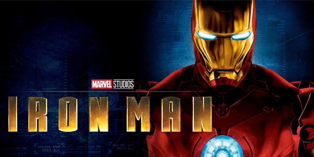 2008 poster of Iron Man.