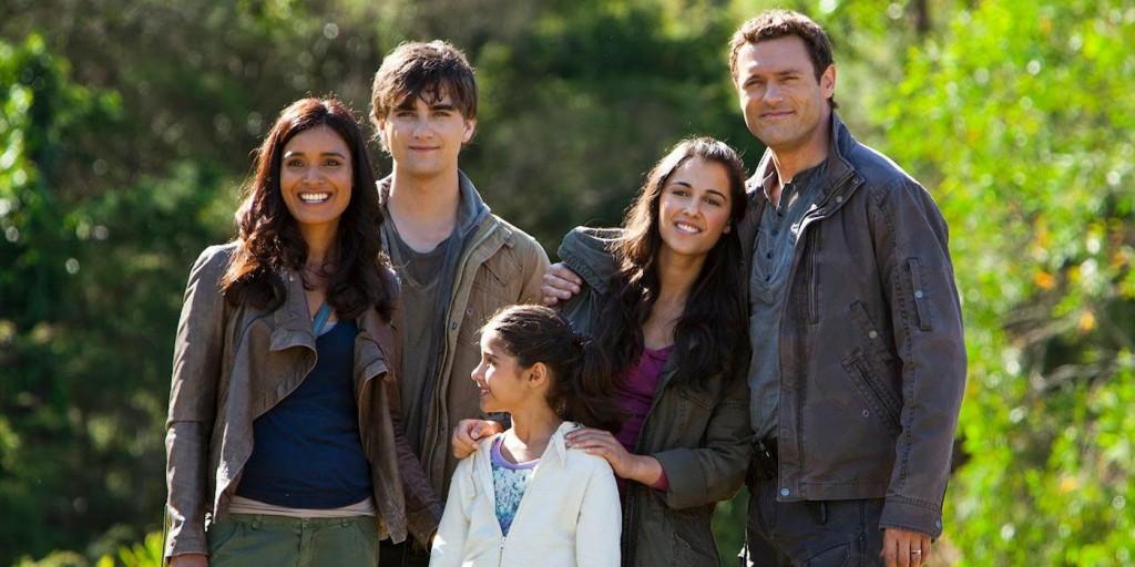 The Shannon Family in Terra Nova.