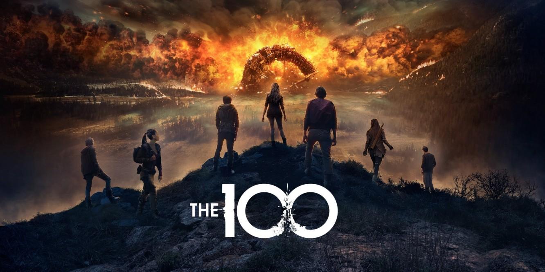 The 100 Season 7 poster.
