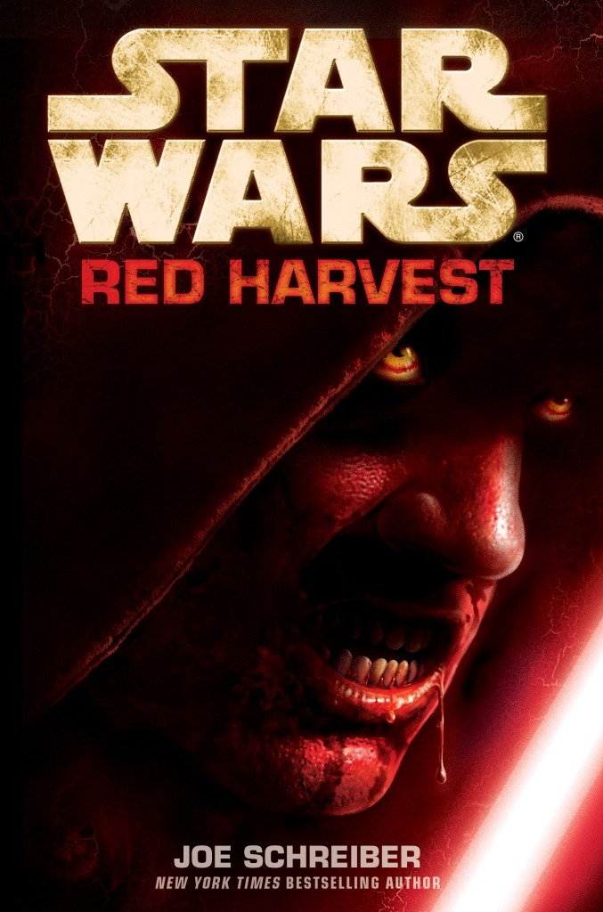 Star Wars: Red Harvest Book cover.
