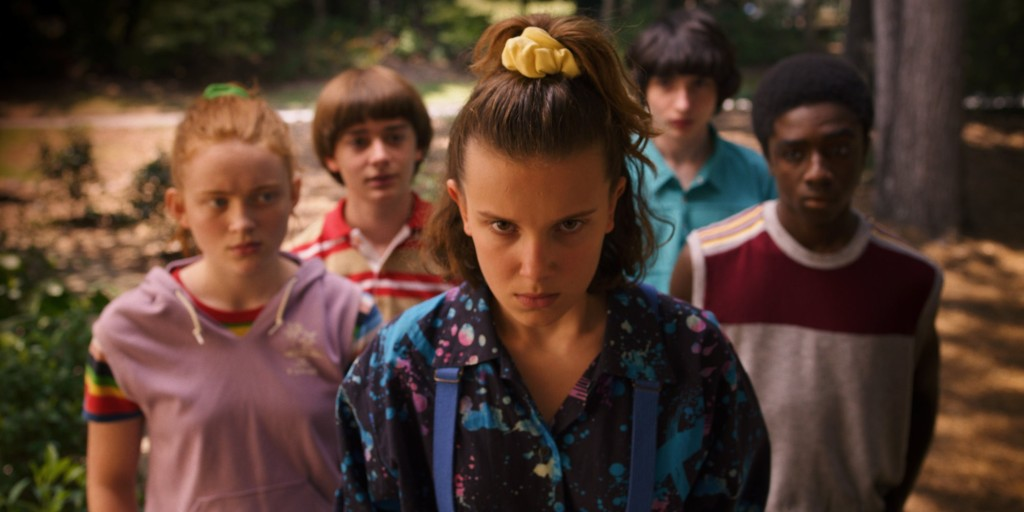 The cast of child actors in Stranger Things Season 3.