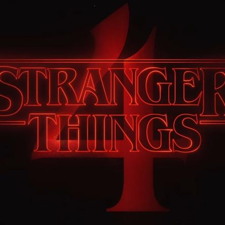 Stranger Things Season 4 poster.